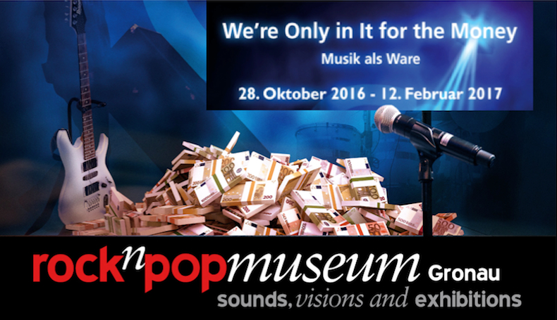 We're only in it for the money – Martin Lücke kuratiert Ausstellung im rock'n'popmuseum Gronau
